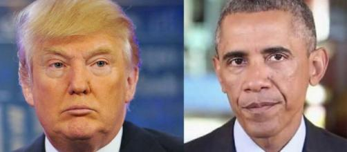Donald Trump, Barack Obama, via Twitter