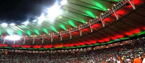 Fluminense e Maracanã: relação ameaçada em 2018 (Foto: Reprodução/Site Oficial do Fluminense FC)