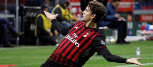 Manuel Locatelli, calciatore del Milan.