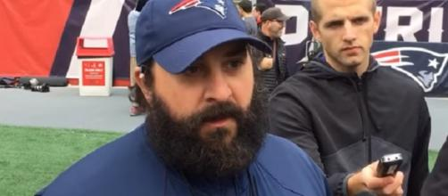 Matt Patricia is being eyed by at least three teams as head coach (Image Credit: MassLive/YouTube)