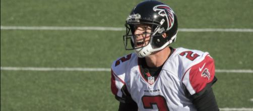 Matt Ryan begins the road to another Super Bowl appearance in Los Angeles. Photo courtesy: Keith Allison via Wikimedia Commons