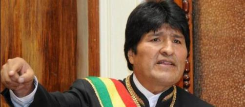 Presidente de Bolivia Evo Morales Aima
