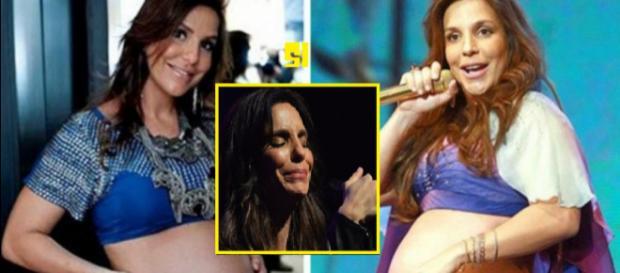 Ivete Sangalo diz que parto das gêmeas será antes de 40 semanas:'Estão com peso'