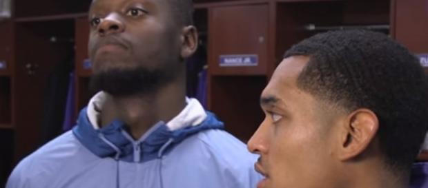 Lakers forward Julius Randle and guard Jordan Clarkson are in NBA trade rumors -- Los Angeles Lakers via YouTube