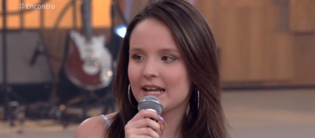 Não é a primeira vez que Larissa vai na Globo