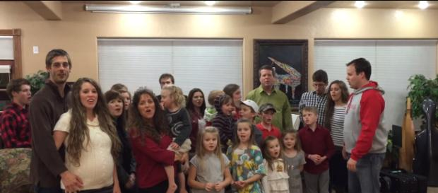 This family don't have any rules for footwear.-(Image Credit: Duggar Studios/YouTube screencap)