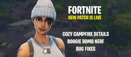 New 'Fortnite' patch is out! Image Credit: Own work