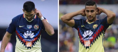 Ambos futbolistas son los principales candidatos a salir del América
