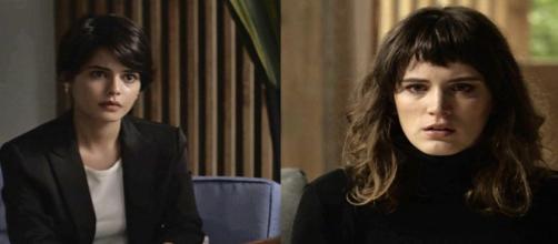Clara se choca com revelação de Adriana (Divulgação/TV Globo)