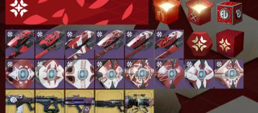 Cosmetics that might be spotted in the upcoming Crimson Days event -- YouTube/xHOUNDISHx