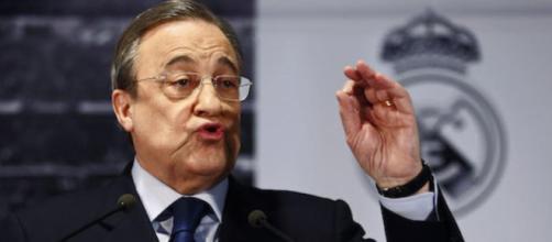 Florentino Pérez quiere un nuevo jugador