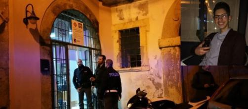 Il palazzo dove è stato ucciso Giuseppe Parretta