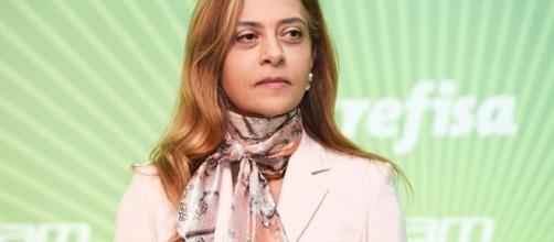 Leila Pereira é a empresária dona da Crefisa. (Foto Reprodução).
