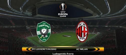 Ludogorets-Milan di Europa League