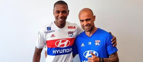 Marcelo n'est arrivé qu'il y a quelques mois à Lyon en provenance de Turquie (OL_Twitter).