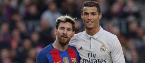 Messi e Cristiano Ronaldo formam a dupla titular da Seleção da Uefa