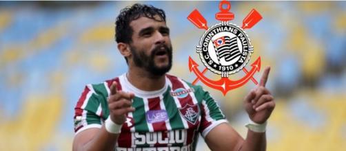 O jogador foi artilheiro do Campeonato Brasileiro. (Foto Reprodução).