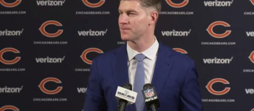 Ryan Pace with Chicago Bears. - [NFL / YouTube screencap]