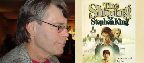 Woman finds letter from Stephen King in copy of 'The Shining' [Image: King by bunkosquad/Wikimedia/CC BY-SA 3.0/'The Shining' Wikimedia/Fair Use