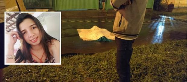Anne Mickaelly foi assassinada após namoro ter sido impedido pela família. ( Foto montagem)