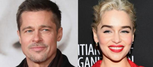 Brad Pitt bids $120,000 to watch 'Game of Thrones' with Emilia ... - businessinsider.com