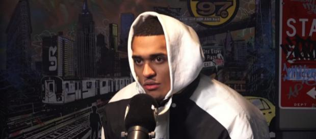 Jordan Clarkson is likely to leave the Los Angeles Lakers soon -- (Image Credit: HOT 97/YouTube screencap)