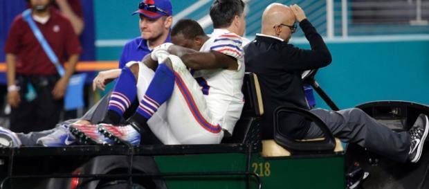 Lesion del jugador LeSean McCoy