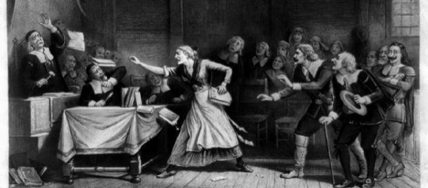 Over 40,000 people were murdered for accusations of witchcraft from 1550-1700. Image credit: Joseph E. Baker/Wikipedia Commons.