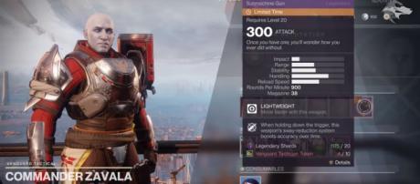 'Destiny 2's' Commander Zavala - YouTube/xHOUNDISHx