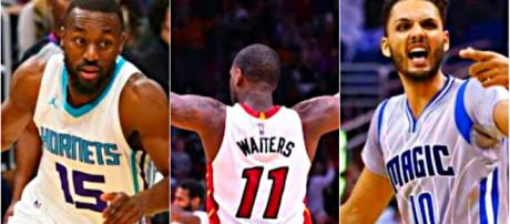 Kemba Walker, Dion Waiters and Evan Fournier are the forefront of NBA trade buzz – [image credit: Ximo Pierto/Youtube]