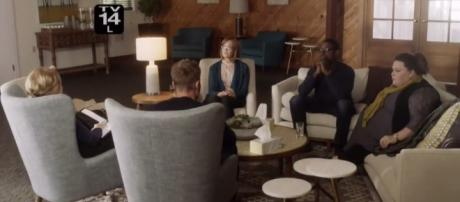 The Person family's first therapy session / Photo via: Youtube https://www.youtube.com/watch?v=NW7TT4o9Uu4