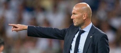 Zinedine Zidane é o treinador do Real