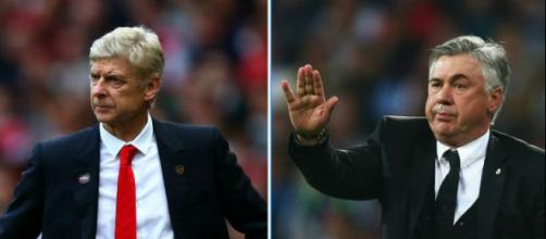 Arsenal 'want to sack Arsene Wenger and hire Real Madrid manager Carlo Ancelotti'