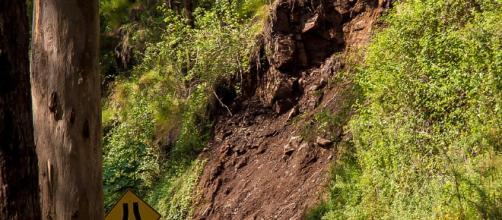 Devastating landslides in California. Image via pixabay.com