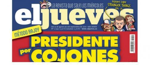 El Jueves – Rajoy – Navidad | PostDigital - postdigital.es