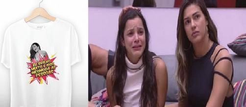 Emilly vai vender camisa, após não ser contratada