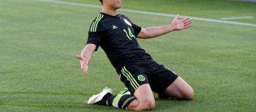 Javier Hernandez connait une fin de carrière délicate (DR).