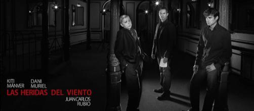 Kiti Mánver, JuanCarlos Rubio y Dani Muriel