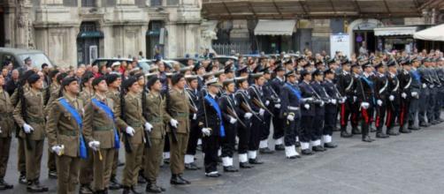 Le pensioni a militari, carabinieri, poliziotti e così via nel 2018