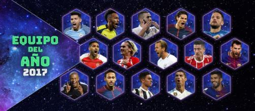Los números del Equipo del Año de UEFA.com - UEFA Champions League ... - uefa.com