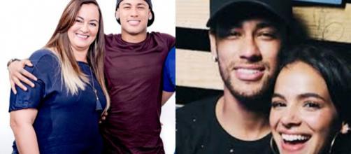 Mãe e irmã de Neymar são contra namoro dele com Bruna Marquezine