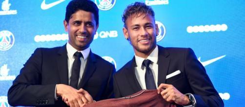 Neymar s'est encore fait remarquer