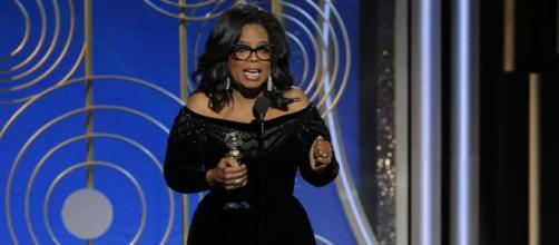 Oprah Winfrey en los golden globes