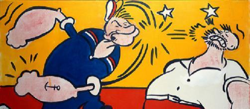 Popeye de R. Lichtenstein (1961)