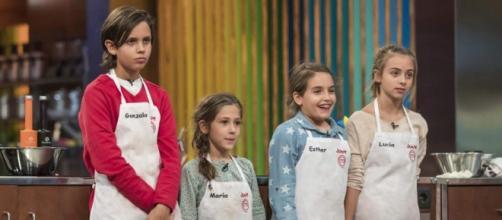 Reality reunió a los pequeños cocineros de España