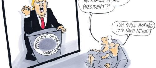 El excelente dibujante Tandberg muestra su calidad gráfica. - twitter.com