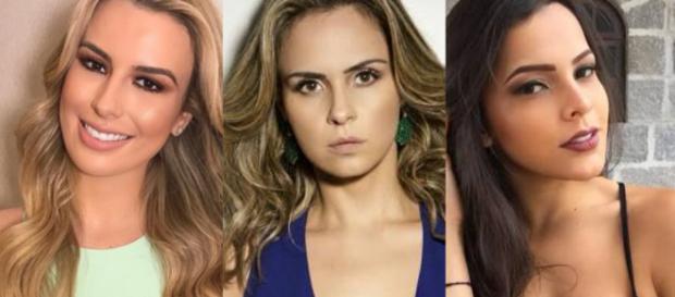 Fernanda, Ana Paula e Munick: ex-BBBs