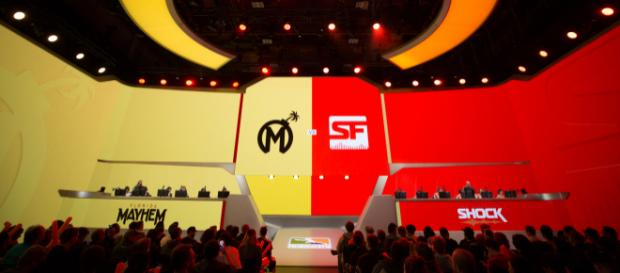 Florida Mayhem VS. The San Francisco Shock [Image courtesy of the Overwatch League]