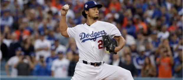 Yu Darvish would like to play in the Bronx next summer. [Image via Wochit News/YouTube]