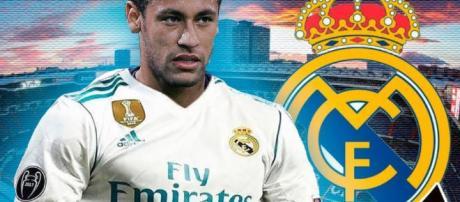 Neymar rumbo a Madrid en el verano